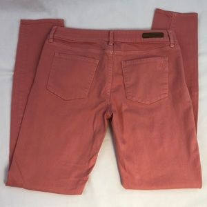 Articles Of Society Pink Skinny Jeans Size 27